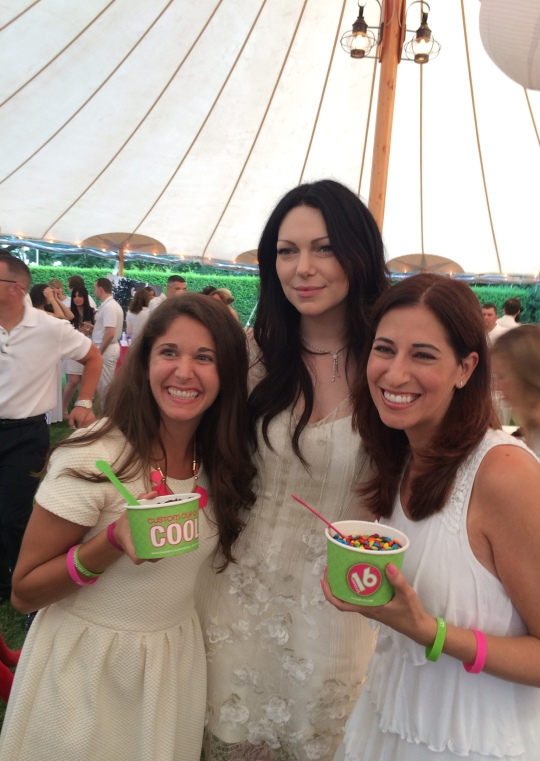 Lara Nicotra, Laura Prepon, Cindi Avila (right to left)