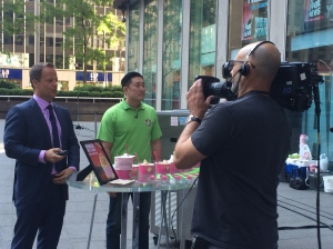 16 Handles appearing live on Fox & Friends
