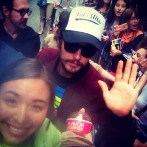 16 Handles PR initiative lands a picture with James Franco