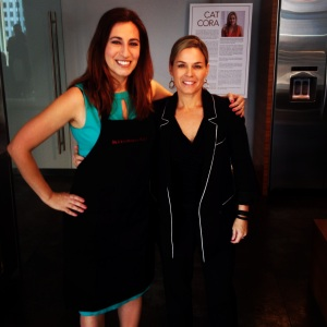 Green Goddess CEO Cindi Avila is a featured guest an event alongside Cat Cora