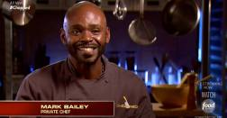 Mark on chopped